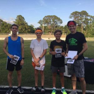 Beaufort Track Club: May 3-Mile Time Trail