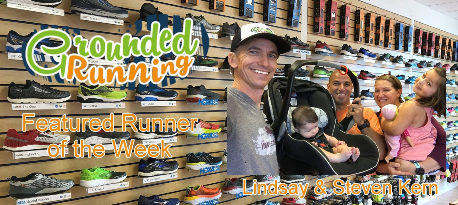 Lindsay & Steven Kern - Featured Runners of the Week - Grounded Running
