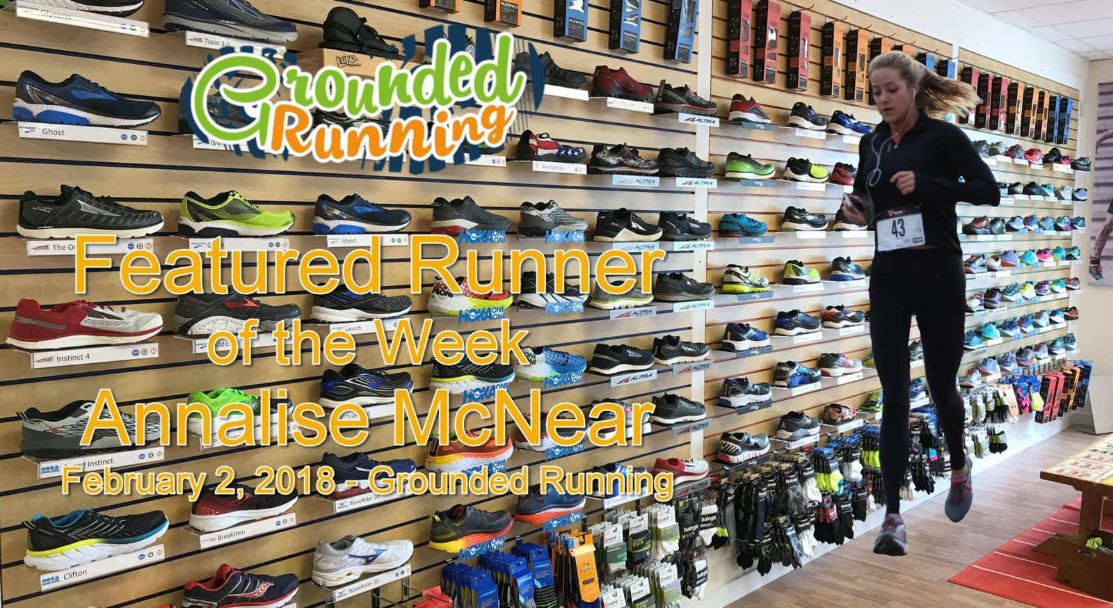Annalise McNear - Featured Runner of the Week