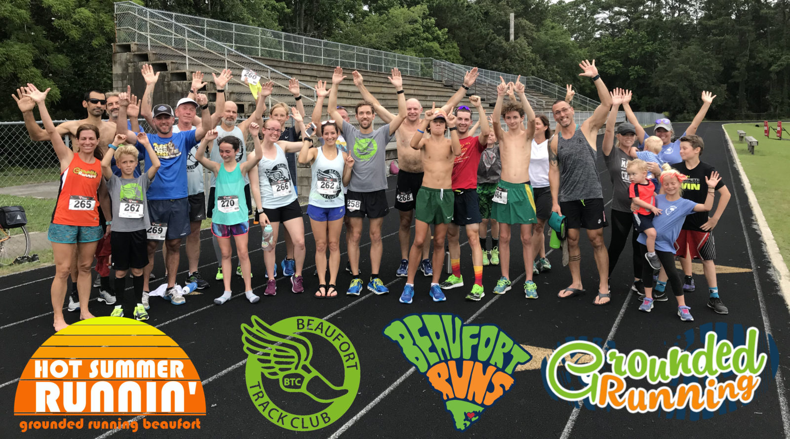 2nd Annual Grounded Running 3-Mile Team Trial