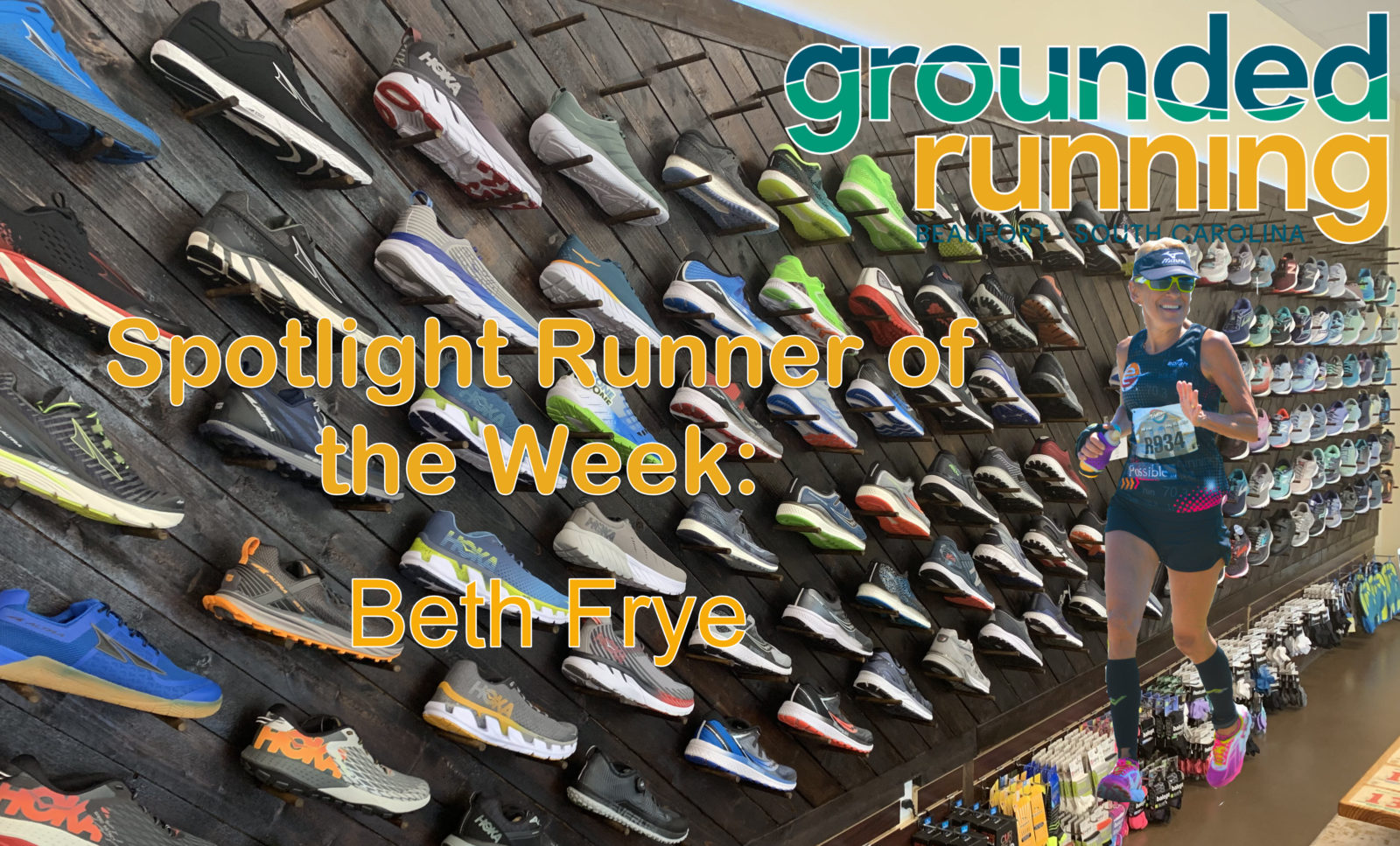 Beth Frye - Grounded Running Spotlight Runner of the Week